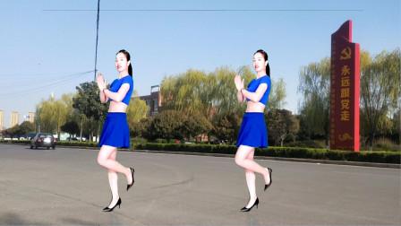 点击观看《驿城微笑广场舞 32步拉丁舞》