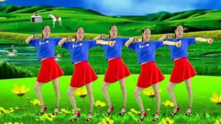 姐舞动人生广场舞《厉害了我的国》舞蹈动感活力