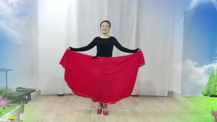 乐青青草儿广场舞《爱不在就放手》形体舞