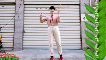 点击观看《麦芽广场舞 百花香 32步 扭胯步子舞》