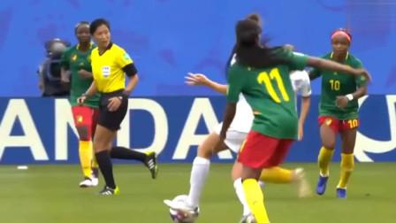 女足也疯狂!女人在足球场上的独特创造力+搞笑场面集锦