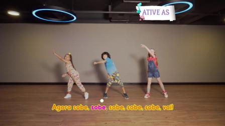 点击观看《少儿舞蹈Aquecimento do Léo Megga视频教学》