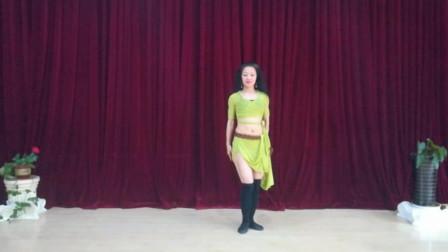 宁波艾妮东方舞 后八字胯正骆驼蛇臂反骆驼动作练习