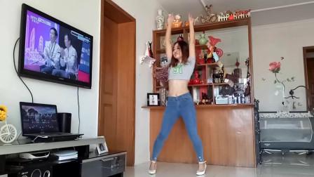京京广场舞《远方有信仰DJ》简单好学摆胯舞蹈