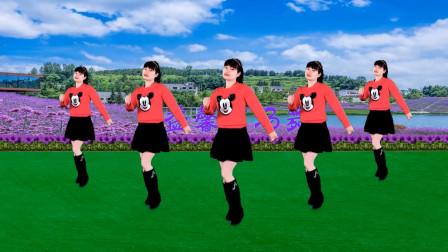 益馨广场舞《路边的野花不要采》恰恰舞40步教程