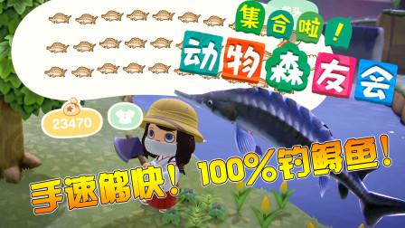 【矿蛙短片】《动物森友会》100%鲟鱼出生地!手速够快1小时300万不是梦