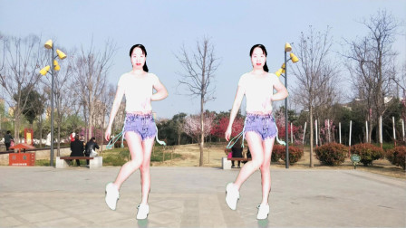 驿城微笑广场舞 撒娇 入门32步鬼步舞简单易学更好看