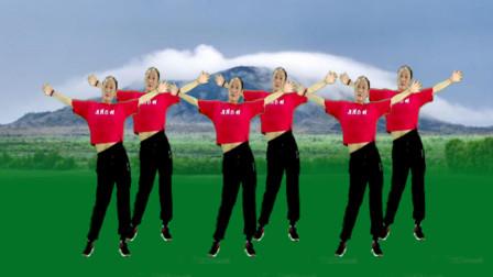 姐舞动人生广场舞 活力健身舞《玛尼情歌》网红DJ 动作简单活力