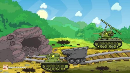 坦克世界动画:德系大军来犯,进攻是最好的防守