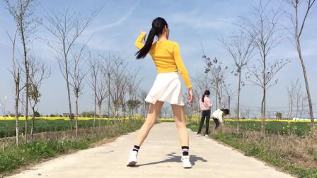 火热经典情歌《dj热辣辣》初级入门广场舞