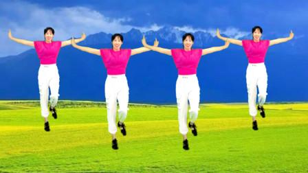 无基础32步减肥操教学《爱到流泪谁的醉》阿采广场舞