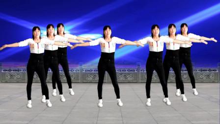 阿真广场舞《爱情有时很残忍》运动健身操正背面加分解教程