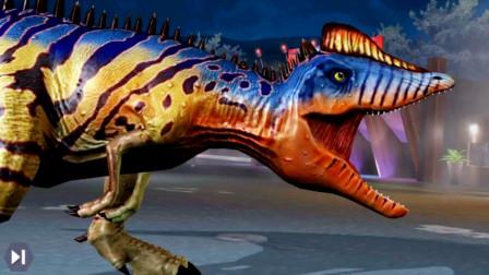 侏罗纪世界:凤凰玛君龙VS世界头目死亡渡渡鸟
