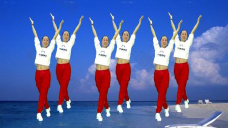 姐舞动人生广场舞《人在江湖》 32步健身舞