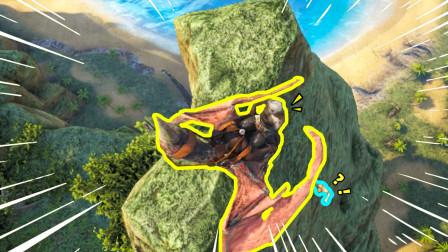 鸡大宝冒险141:狗剩嘲笑我的长相,为了教训他,我用翼龙将他丢下山
