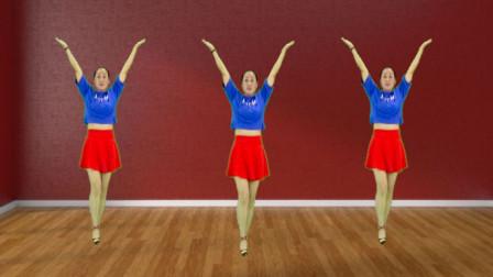 姐舞动人生广场舞《厉害了我的国》老少皆宜的舞蹈视频