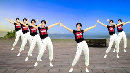 阿采广场舞《花儿哪有阿妹俏》扭腰摆胯舞蹈