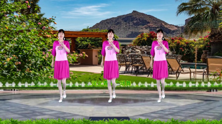 点击观看《河北青青广场舞《前面那个姑娘》16步附教学》