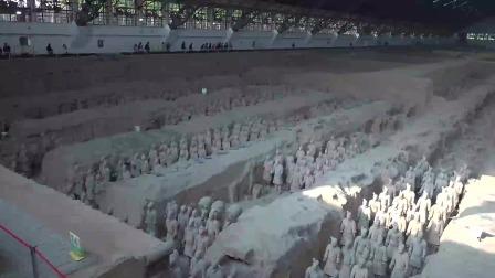 世界第八大奇迹秦始皇兵马俑景区欣赏