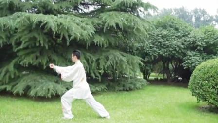 点击观看《24式太极拳音乐《北京的金山上》》