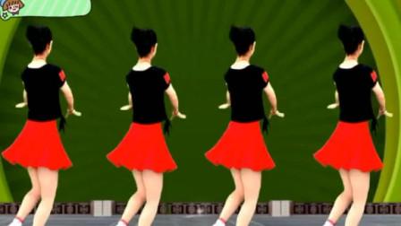 燕子广场舞5211《一抓一蹦跶》小朋友也可以跳