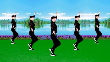点击观看《益馨广场舞《点歌的人》32步大众健身舞分解教学》