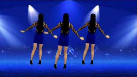 点击观看《鹤塘紫儿广场舞 动感弹跳舞蹈教学《多情的酒dj》64步背面附分解》