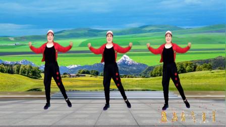 点击观看《中国民族风健身操《映山红》每天都跳好几遍》