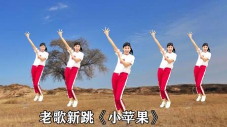阿采广场舞 《小苹果》强身健体跳起来