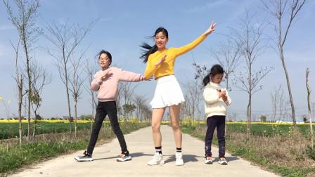 点击观看《农村小道舞蹈视频 艾And幼村路上亲子广场舞》