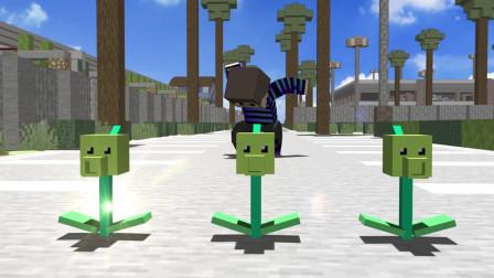 我的世界动画-植物战丧尸-Batt Minton