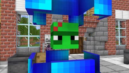 我的世界动画-怪物学院-潜影盒挑战-Maltshake Animations
