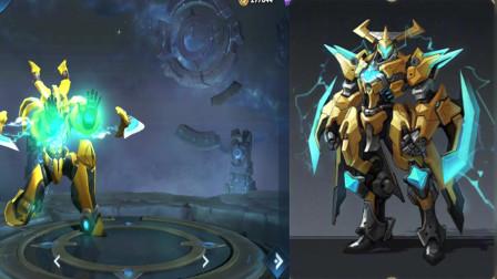 墨子的龙骑士和金属风暴重做模型展示 龙骑士新增尾巴变帅了