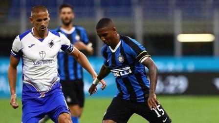 来球直播-足球意甲直播回放:国际米兰2-1桑普多利亚全场集锦