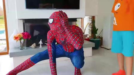 蜘蛛侠:蜘蛛侠从电视里出来了