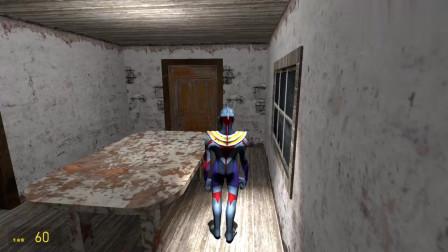 欧布奥特曼在密室发现一个传送门是怪兽的陷阱吗?