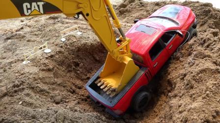 小伙伴们快来拯救汽车玩具2