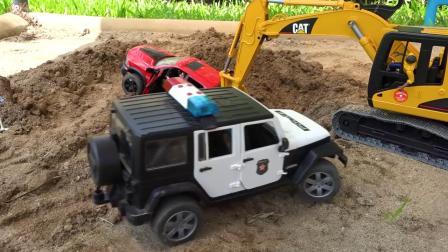 小伙伴们快来拯救汽车玩具3