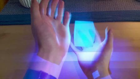 【游民星空】微软混合现实工作室——全息影像直接互动项目