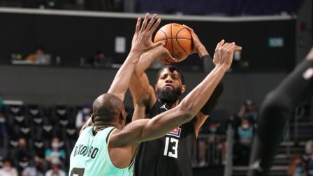 NBA:快船113-90黄蜂 乔治20+10+6小卡16+9