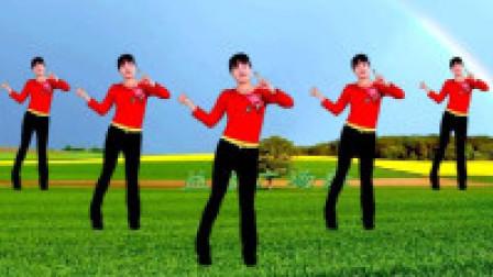 益馨广场舞《饮酒欢歌》时尚16步 零基础入门水兵舞