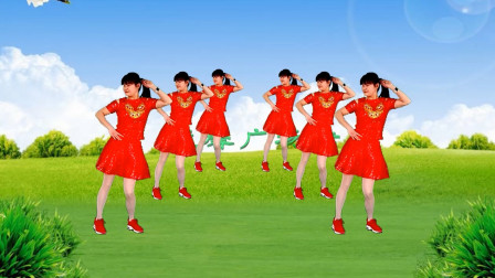 益馨广场舞《三月三》原创入门单人水兵舞16步 附分解教学