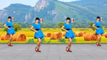 益馨广场舞《一曲相思》入门32步恰恰舞