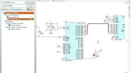 第五节 pcb印制电路板设计实例