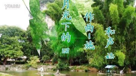葫芦丝 月光下的凤尾竹 李版伴奏C F合奏视频