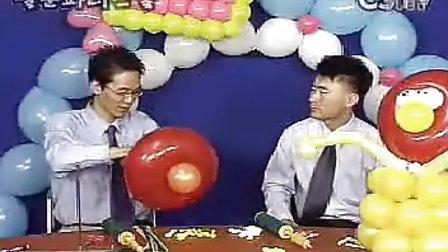 韩国气球装饰魔术气球高级教程二