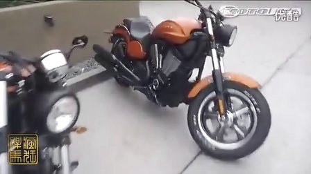 2013款黑色i胜利Judge摩托车首次试驾视频
