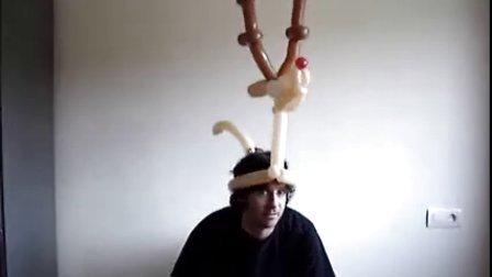 魔术气球(帽子,背包,手持)