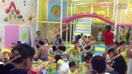 投资室内儿童乐园火爆现场视频