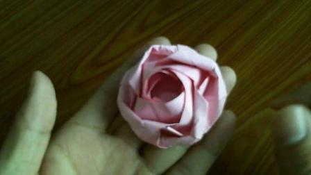 折纸玫瑰花大全视频教程 德国玫瑰花的折法 eb玫瑰 折纸王子